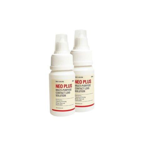 NEO PLUS Multi Purpose Contact Lens Solution (Twin Pack)