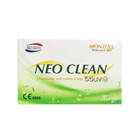 Neo Clean Soft Contact Lens Monthly (2 Lenses)