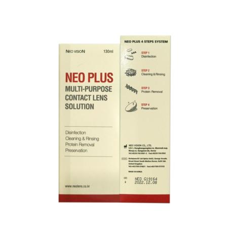 NEO PLUS Multi Purpose Contact Lens Solution (130ml)