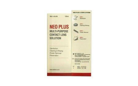 Neo Plus Multi-Purpose Contact Lens Solution (130ml)